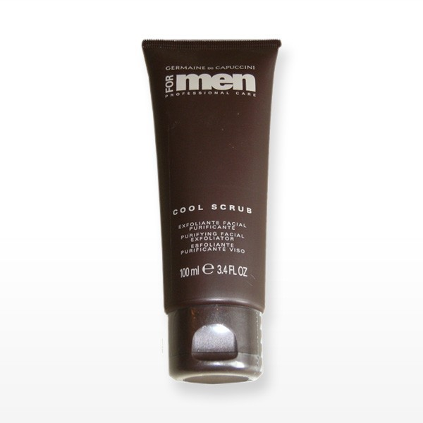 for men cool scrub germaine de capuccini 100ml